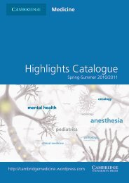 mental health - Cambridge University Press
