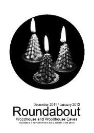 Roundabout Dec 2011/Jan 2012 - Woodhouse Parish Council