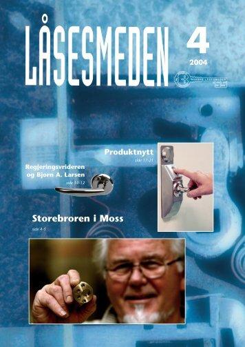 4 2004 Storebroren i Moss - Foreningen Norske LÃ¥sesmeder