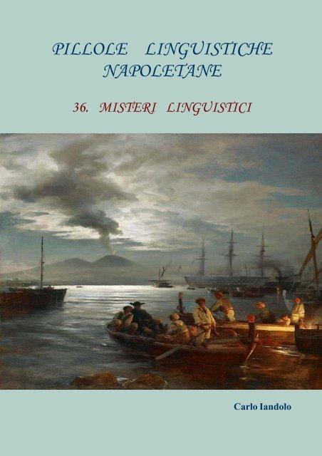 36 Carlo Iandolo – Pillole Linguistiche Napoletane - Vesuvioweb