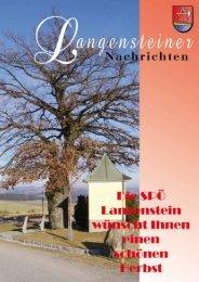 Folge 142 Herbst 2012 - langenstein.spoe.at - SPÖ
