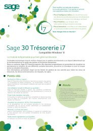 Sage 30 Trésorerie i7 - extremIT