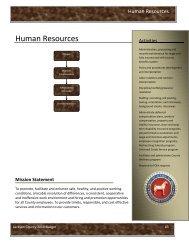 Human Resources - Jackson County, Michigan