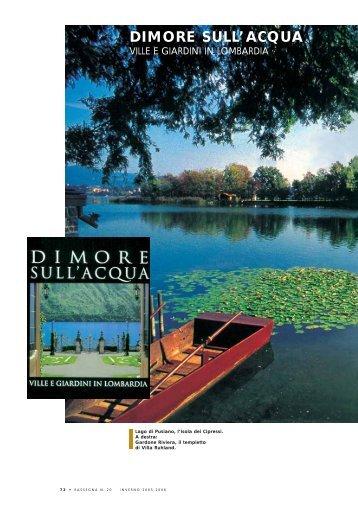 dimore sull'acqua ville e giardini in lombardia - UBI Banca