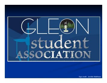 Graduate Students and GLEON