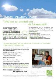 VIVISOL Charity Care 2006