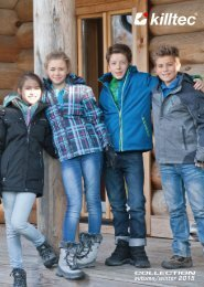 KILLTEC - JESIEŃ   ZIMA 2015/16 - kolekcja dziecięca i młodzieżowa