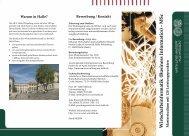 Wirtschaftsinformatik - Martin-Luther-Universität Halle-Wittenberg