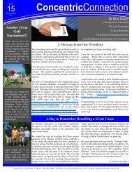 2011 Golf Tournament - Concentric Corporation
