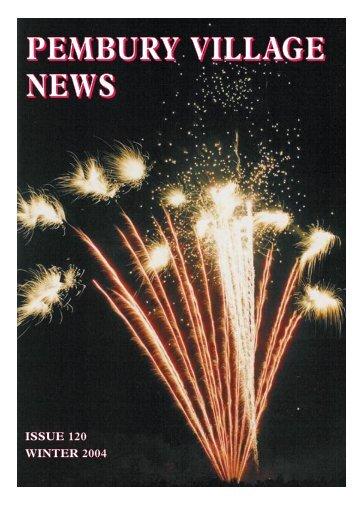 Issue 120 - the Pembury Village Website