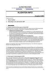 Klienten Information 5/2007 - Alfred Bruckner