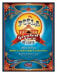 2014-State-FCCLA-Program