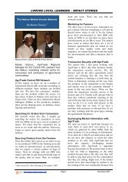 97 The Nakuru Market Access Network - Linking Learners