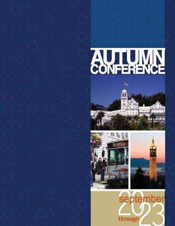 CalACT 2011 Autumn Conference