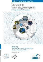DWA-Tagung GIS und GDI in der Wasserwirtschaft - Wupperverband