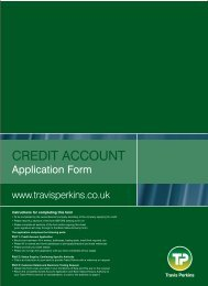 Credit Account Application form - Trademate Home Page