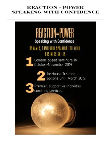 reactionpower-seminar