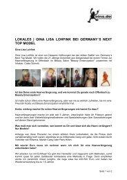 gina lisa lohfink bei germany´s next top model - Beautyemancipation