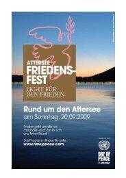Programm (pdf) - Attersee Friedensfest
