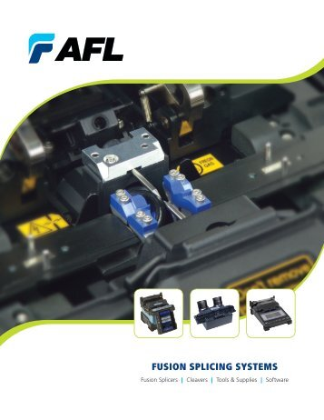 fusion splicing systems catalog - AFL