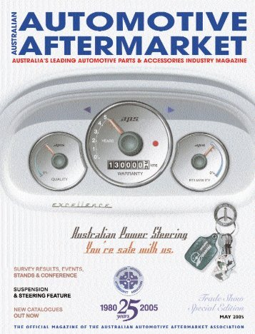 Survey Feature - Australian Automotive Aftermarket Magazine