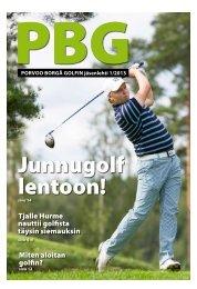 PBG:n jäsenlehti 1/2013