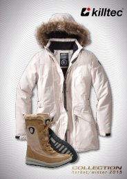 KILLTEC - JESIEŃ   ZIMA 2015/16 - kolekcja obuwie zimowe i sportowe