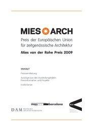 Preis der Europäischen Union für zeitgenössische Architektur - M:AI