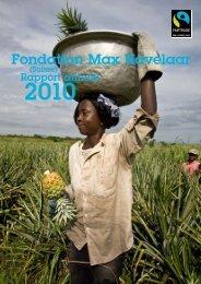 Rapport Annuel 2010 PDF, 614 KB - Max Havelaar