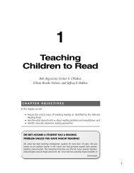 Teaching Children How to Read - Corwin