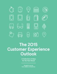 The 2015 Customer Experience Outlook