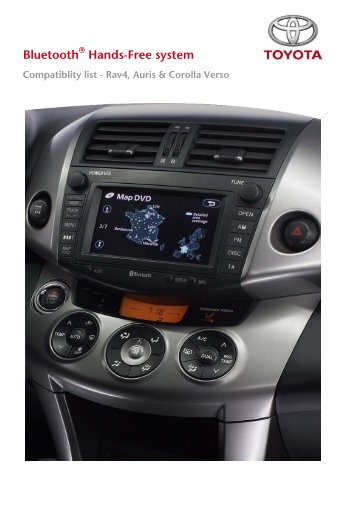 Bluetooth - Toyota