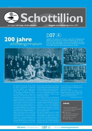 200 jahre schottengymnasium - Alt-Schotten