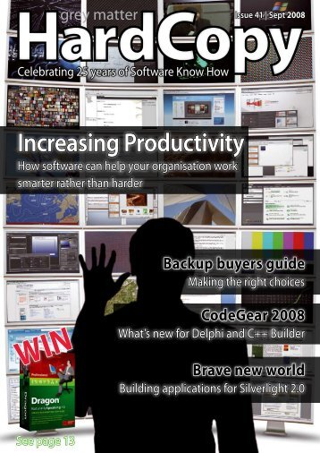 Increasing Productivity - Software Know How