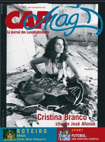 Cristina Branco - Cap Magellan