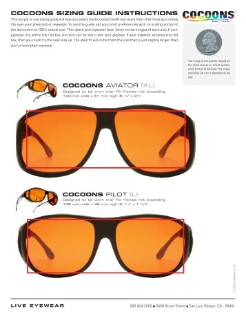 bcaab360e2 OveRx® Sunglasses – Better for Everyone! - Cocoons Eyewear