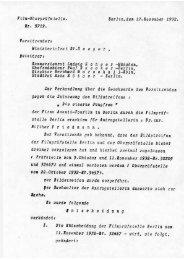 Protokoll - Deutsches Filminstitut - DIF