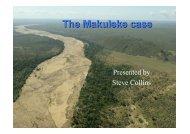 Makuleke case presentation by Steve Collins - The African Safari ...