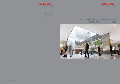 Solutions de chauffage pour les collectivités5.2 MB - Viessmann