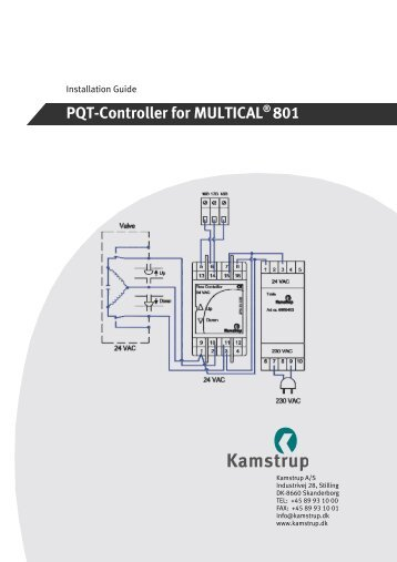 PQT-Controller for MULTICAL® 801 - Kamstrup