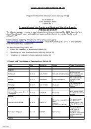 Case Law on CISG Art 38, 39 - CISG Advisory Council