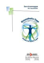 Tipps und Hilfen für die Messe Organisation – Technik - Formulare