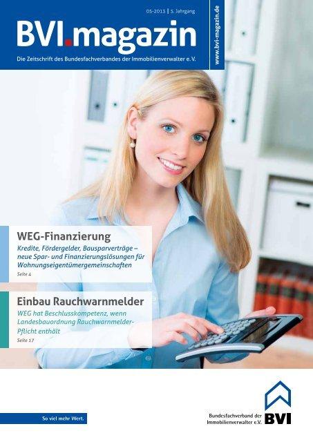 BVI 05/2013 - BVI Magazin