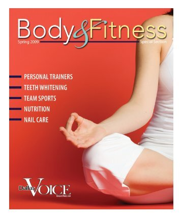 Body & Fitness 1-16:Layout 1 - Dallas Voice