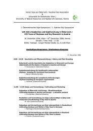 Verein Soja aus Österreich / Austrian Soy Association & Universität ...