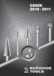 Bučovice Tools