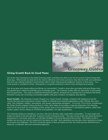 Greenway Guides - Dutchess County