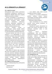 Ravikilpailusäännöt 45 §, lääkintä ja lääkkeet - Hippos