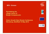 Revitalising the village centre of Barger-Compascuüm - MP4-Interreg