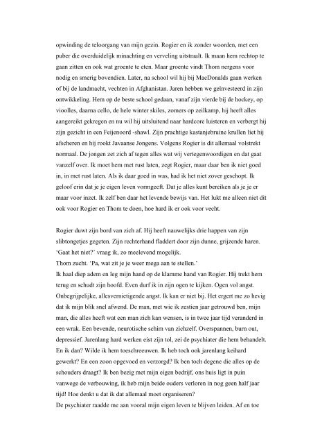 hoofdstuk 1 - Pauw en Witteman